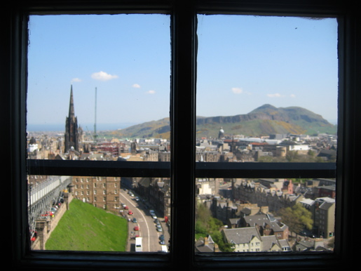View from Edinburgh Castle, Edinburgh Scotland