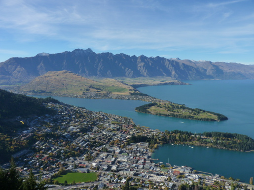 View over Queenstown
