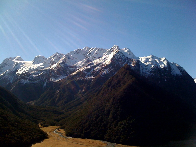 View on the Routeburn Track