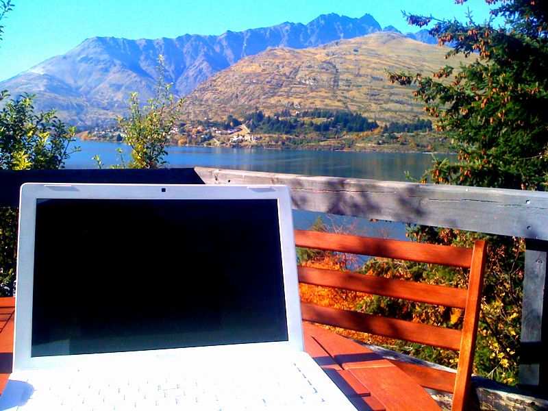 Blogging in Queenstown