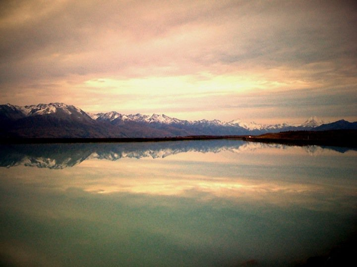 Southern Alps: Reflected