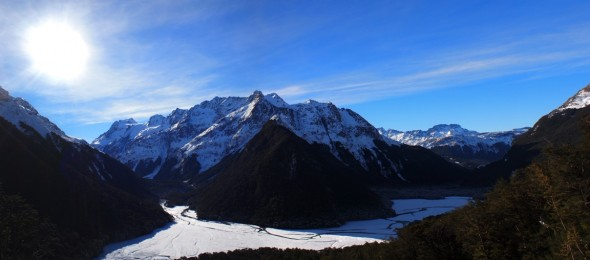 Humbolts: Seen from the Routeburn