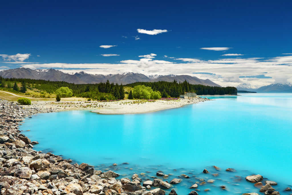 Lake Pukaki (South Island), New Zealand