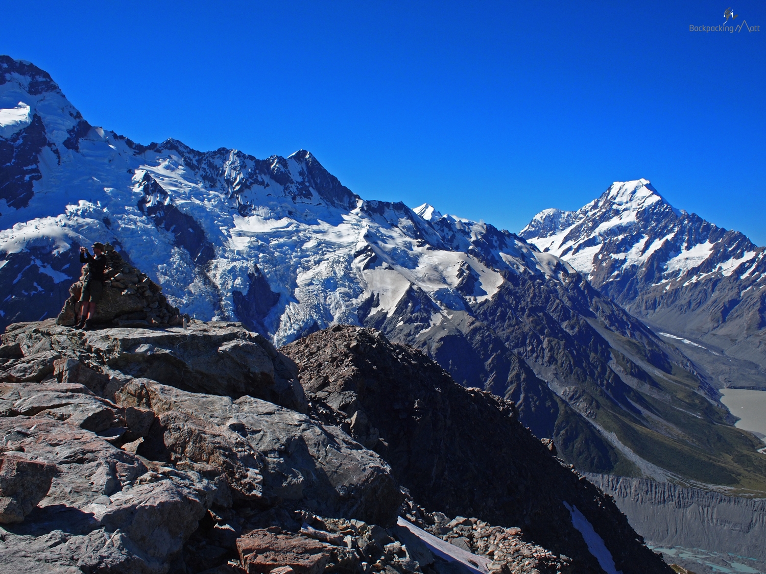 View From Mount Ollivier