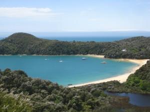 Beach on the Abel Tasman