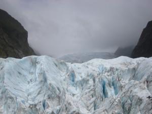 Franz Josef Glacier's Face