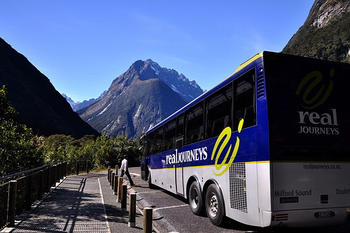 Bus Travel New Zealand