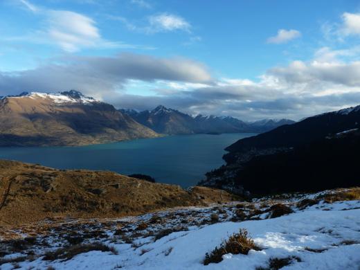 Lake Wakatipu From the Summit