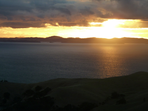 Coromandel New Zealand Sunset