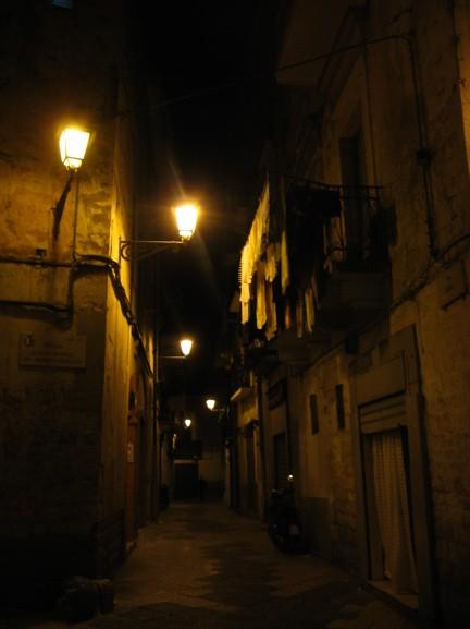 Bari Italy Alleyway