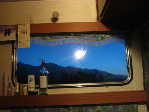 View from a Caravan
