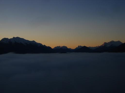 Clouds over Lake Wakatipu