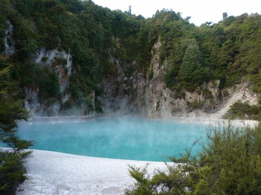 Geothermal Rotorua Lake