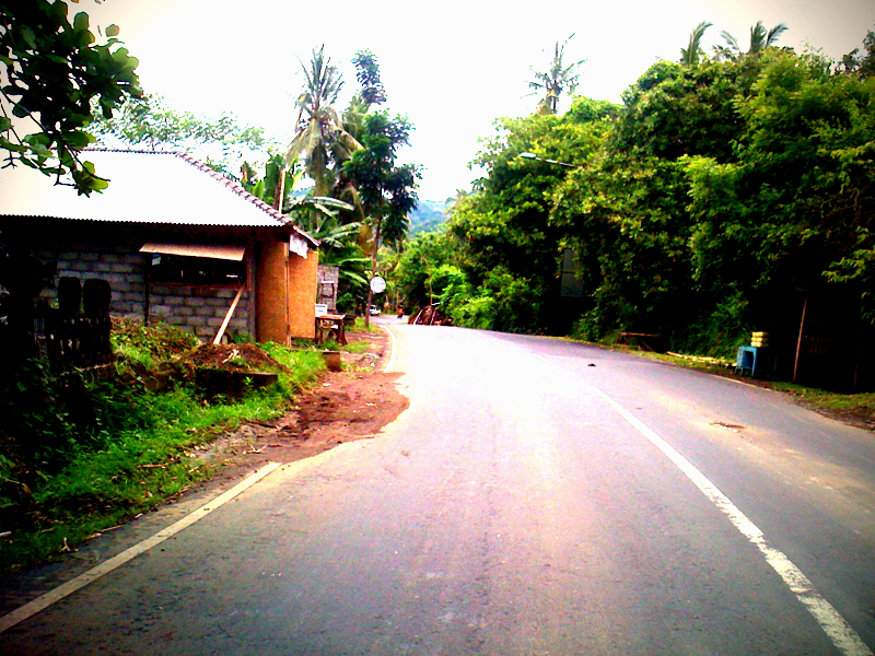 Bali Road from the Scooter