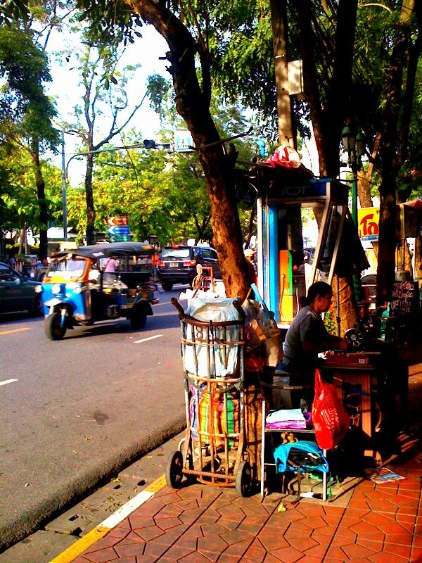 Bangkok Street Vendor & Tuk Tuk