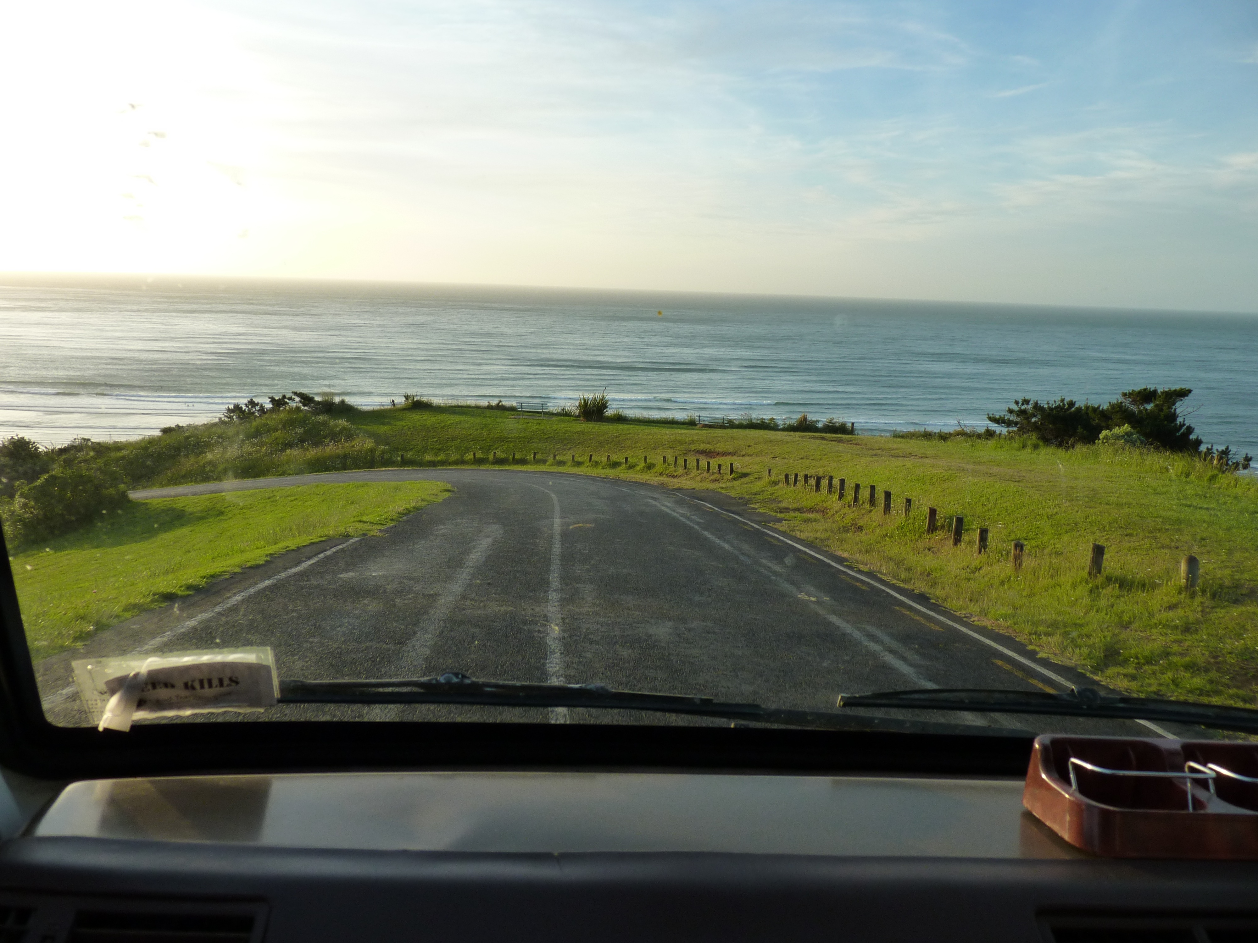 View from Max: The Tasman Sea