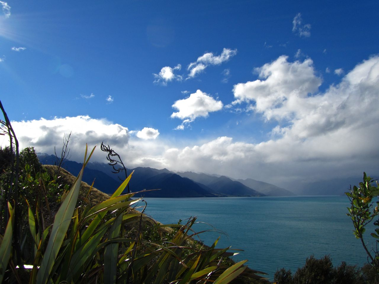 Lake Hawea New Zealand - South Island