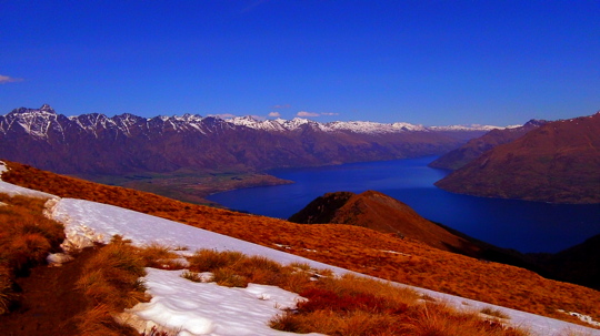 Lake Wakatipu from Above