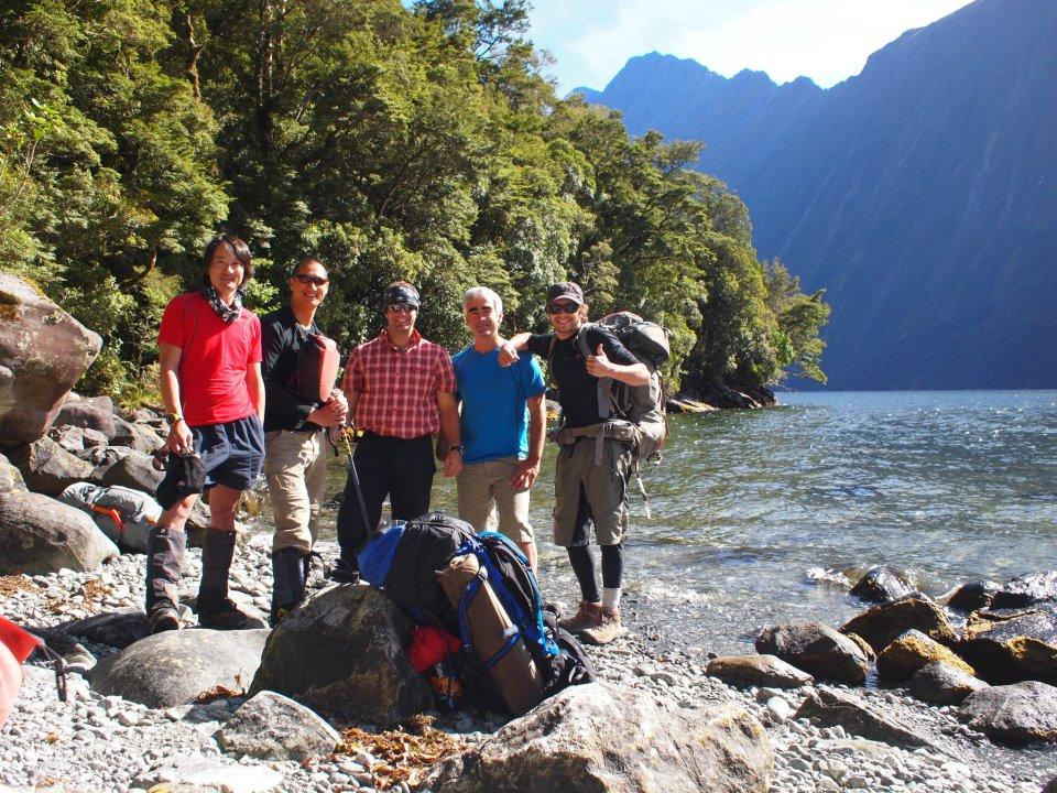 Mitre Peak Crew