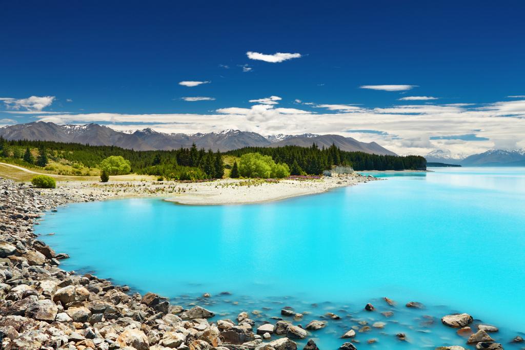 Lake Pukaki (South Island), New Zealand
