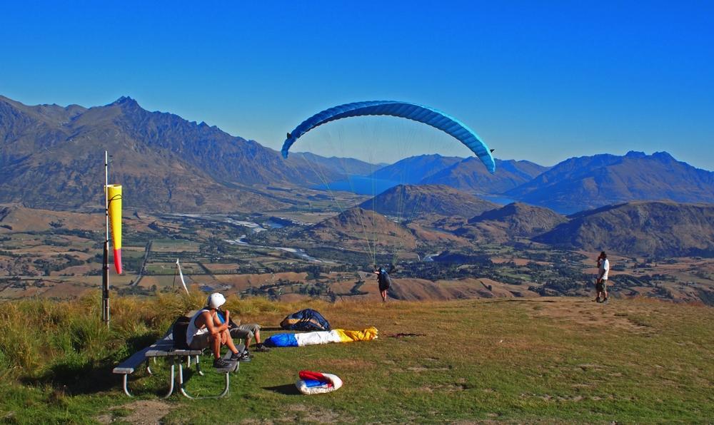 Rocky Gully Coronet Peak Launch