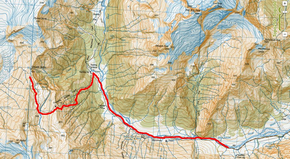 Cascade Saddle Map