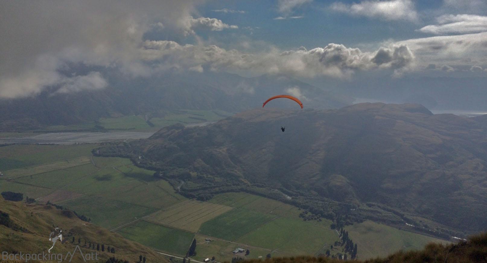 Paragliding Treble Cone
