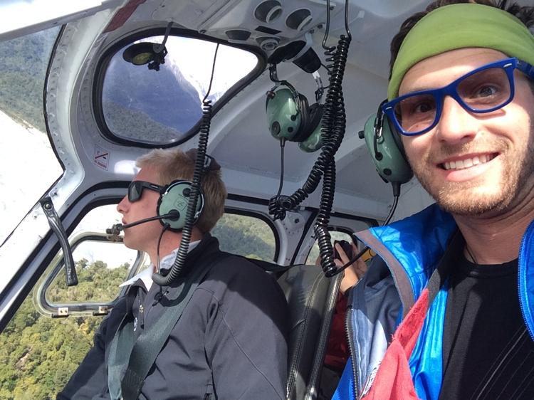 Riding in the Chopper
