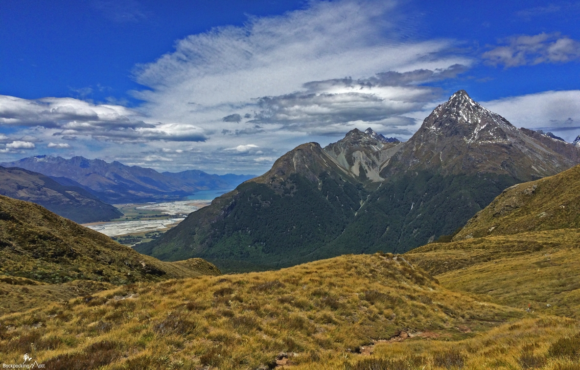 Sugarloaf Pass: Looking Towards Glenorchy