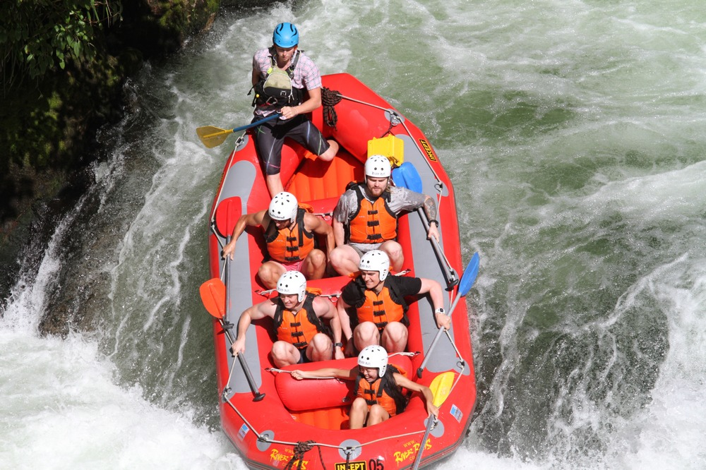 Rafting the Kaiktuna