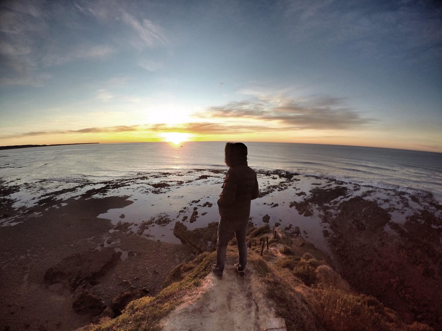 Sunrise at Bushy Beach